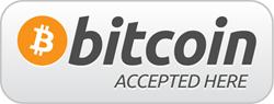 Bitcoins akzeptiert